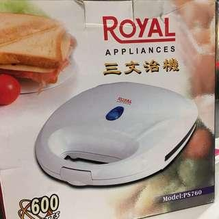 三文治機 sandwich maker 🍞