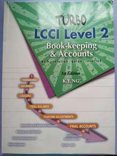 會計 LCCI Level 2 Book-keeping & Accounts