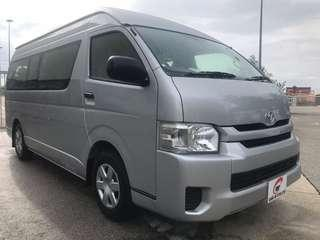 Toyota Hiace Commuter (High Roof)