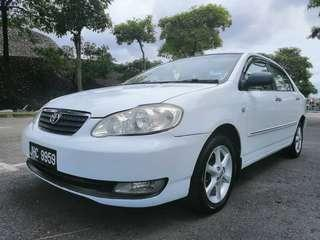 Toyota altis  1.8 G 2003