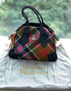 🇮🇹👜 二手100%正貨 90%新 意大利名牌 Italy Brand  中古經典 Vivienne Westwood 真皮 Leather 手袋/手挽袋 Handbag