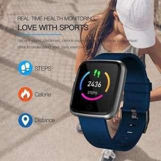Fitness Sports Smart Watch Men Women Heart Rate Blood Pressure Y7 Smartwatch