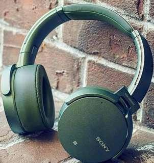 Jual headphone wireless Sony MDR XB950N1