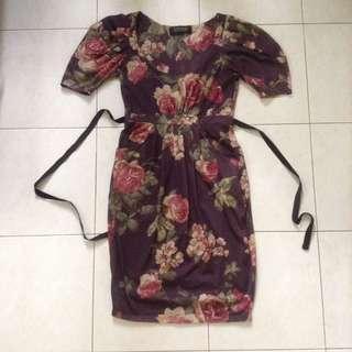 Zara floral dress #MMAR18