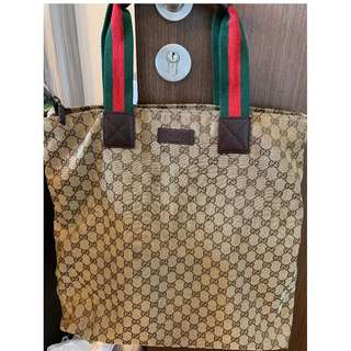 006e4ab68 💯 💯Authentic Gucci Joy D-Ring Large Tote 203493-213317, Made In ...
