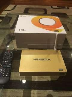 Himedia H8 octa core 4k UHD android TV Box