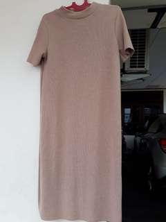 Preloved Original Zara Knit Long Dress