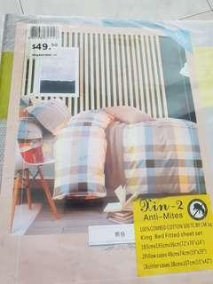 King size bedsheets set