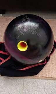 Ebonite warrior 16lbs bowling ball