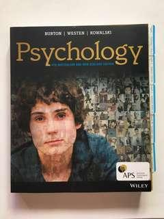 Psychology - 4th Australian and New Zealand Edition by Burton, Westen & Kowalski