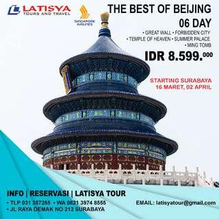 Beijing tour 6 hari