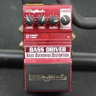 Digitech Bass Driver 貝斯 過載/失真 效果器*現金收購 樂器買賣 二手樂器吉他 鼓 貝斯 電子琴 音箱 吉他收購 二手樂器