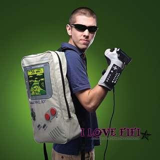 美國TravelBoy Backpack Gameboy遊戲機帥氣後背包