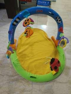 Fisher price tummy time kick and play