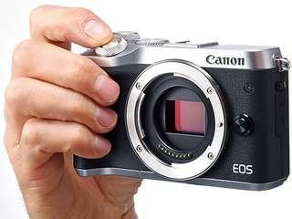 Kredit Cepat Canon EOS M6 Mirrorless Digital (Body Only)