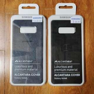 🚚 BNIP Samsung Galaxy Note 8 Alcantara Cover