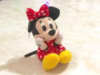 Authentic Minnie Mouse Keychain