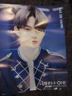 BAE JIN YOUNG WANNA ONE POSTER