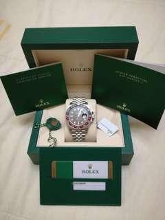 Rolex GMT MASTER2 126710BLRO PEPSI