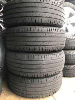 235/60/18 michelin latitude used tyre