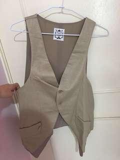 🚚 韓製 背心外套 vest
