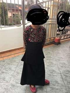 Girl Dress Baju Kurung