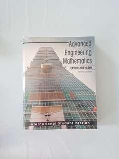 Advanced Engineering Mathematics 10th Edition International Student Version