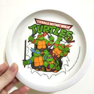 🚚 絕版 忍者龜塑膠餐盤