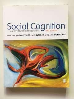 Social Cognition: An Integrated Introduction - 3rd Edition by Martha Augoustinos, Iain Walker and Ngaire Donaghue