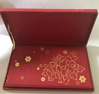 ANZ Private Bank High Quality Red Packets Ang Pow In Box