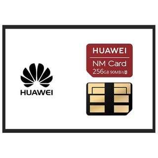 (原廠原裝,超殺特惠!!!) HUAWEI華為 NM CARD 256G記憶卡 256GB 非 NM卡 128G 64G