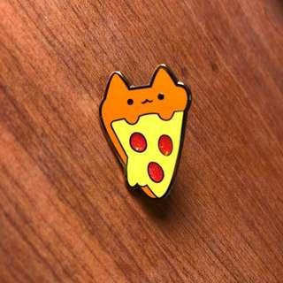 justduet/duetlol Pizza Cat Enamel Pin