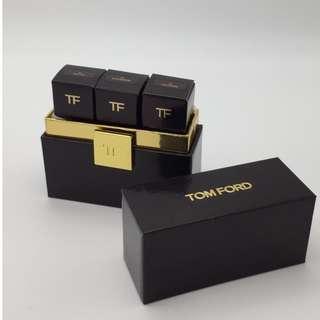 Tom Ford Boys & Girls唇膏套裝(三枝@2G) TF Cluch-size Lip Color Set(3pcs) #01Katherine, #12 Alexis, #21 Julianne 包順豐 全新專櫃品 任何兩件商品95折