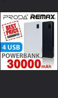 CNY Sale Authentic Remax Proda Powerbank 30000 mAh