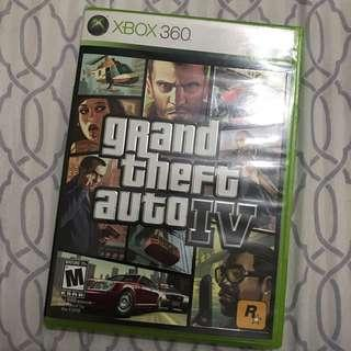 Xbox 360 gta 4