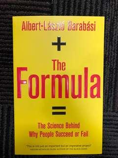 The Formula: The Universal Laws of Success by Albert-László Barabási