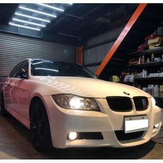 BMW E90 325i M包 M方向盤 大螢幕 黑頂天窗 皮內裝