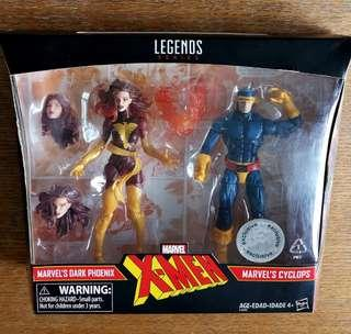 Marvel Legends X-Men Cyclops and Dark Phoenix Toys R Us Exclusive Action Figures
