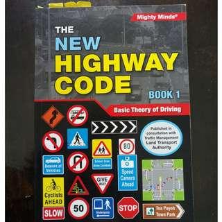 Mighty Minds The New Highway Code Book 1 Basic Theory of Driving (for BTT)