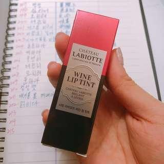LABIOTTE 全新 紅酒瓶染唇液