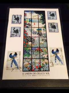 Handcrafted World Stamps Artworks