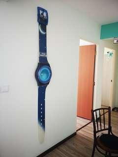Swatch Watch Wall Clock