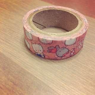 Bb貓紙帶 膠紙 Nya Nye Nyi Nyu Nyon masking tape paper tape