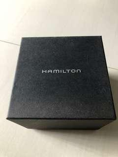 Watch box full set - Hamilton