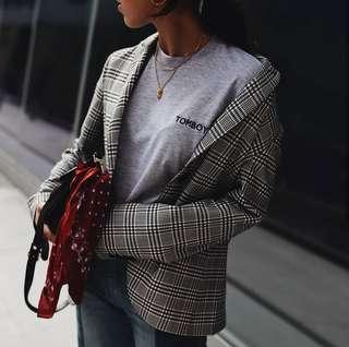 ASOS check blazer