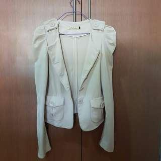 Office Beige Coat