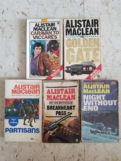 Alistair Maclean Scottish Thrillers