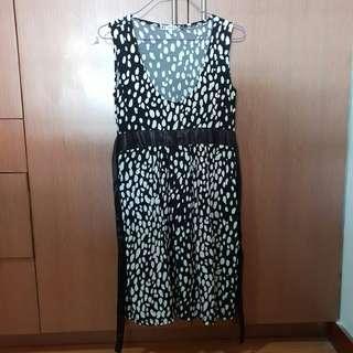 Shapes Polka Dots Dress