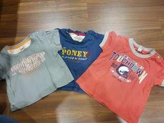 baby boy poney t-shirt 12-18 month