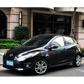 MAZDA 五門掀背車進口車 一手車 原版件 2 黑 1.5cc Sport版 跑少9萬